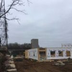 Construction image of Vennebu Hill Wisconsin Wedding Venue to be completed Late Spring 2018