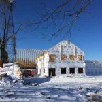 Winter Construction of Vennebu Hill Wedding & Event Venue