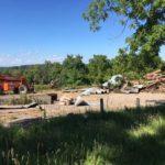 Vennebu Hill Wisconsin Wedding Venue Under Construction