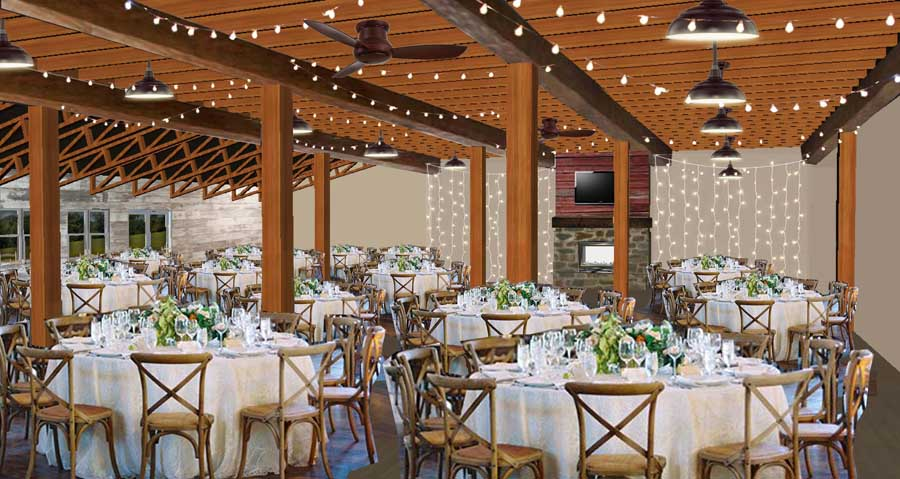 Wisconsin Wedding Venue - Vennebu Hill events barn in Wisconsin Dells