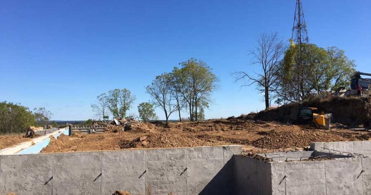 Construction Update: Foundation Poured for Vennebu Hill – Wisconsin Dells' Newest Wedding Venue