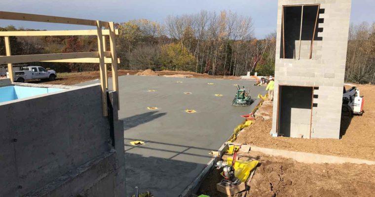 October Construction Update for Vennebu Hill Wedding Barn & Event Venue