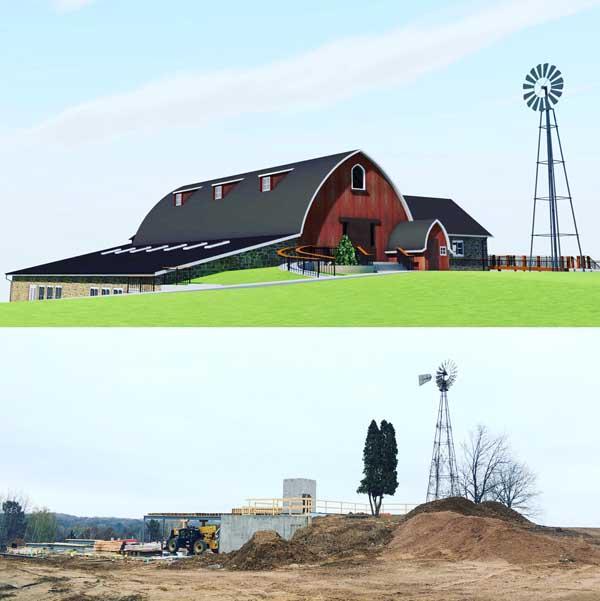 November Construction Update: Framing Takes Shape at Vennebu Hill