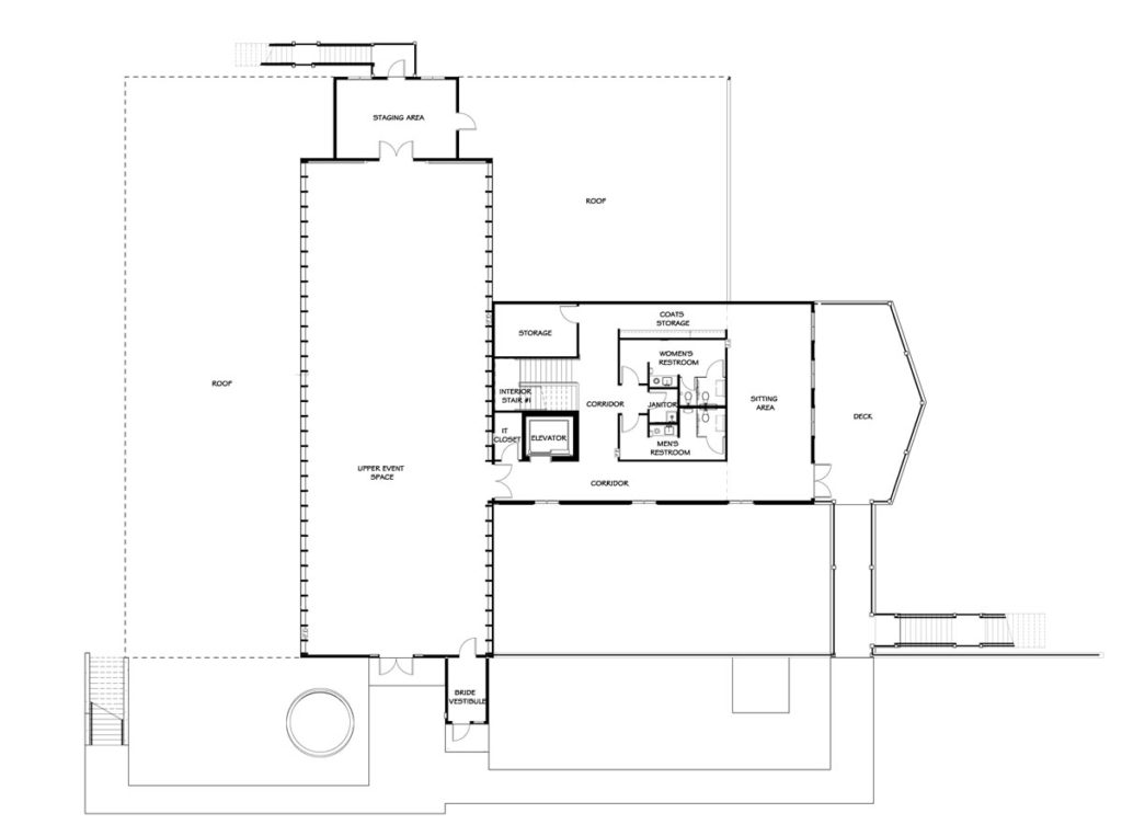 Floor plans layout wisconsin 39 s new wedding barn for Event floor plan layout
