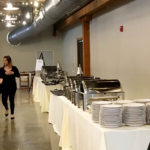 Vennebu Hill - in Wisconsin Dells - new wedding and event venue - buffet line preparation