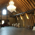 Vennebu Hill - in Wisconsin Dells - new wedding and event venue - the party barn setup