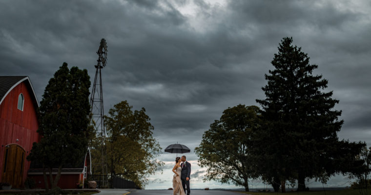 Sarah & Eric and their rainy fairy-tale wedding – September 29, 2018