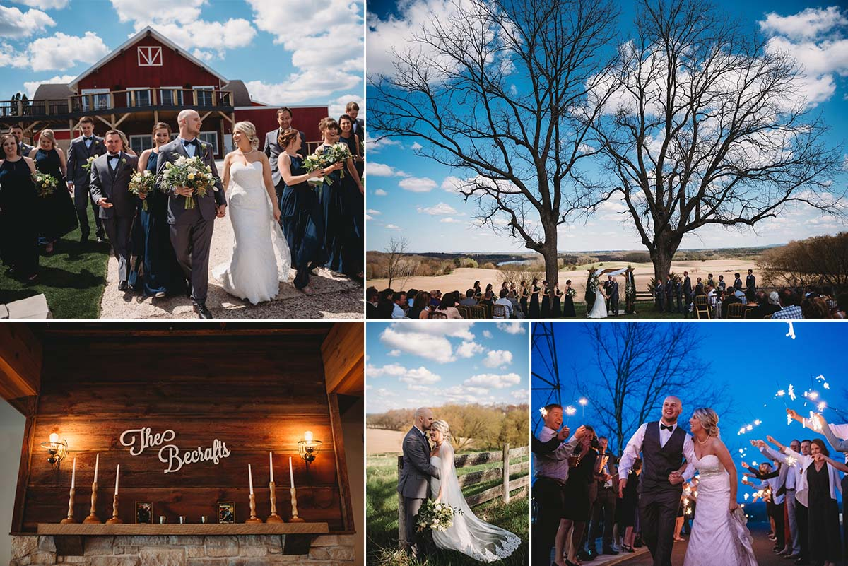 Spring 2019 Weddings at Vennebu Hill