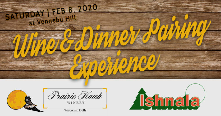 Pop-Ups | Pairing Dinner featuring Ishnala & Prairie Hawk Winery